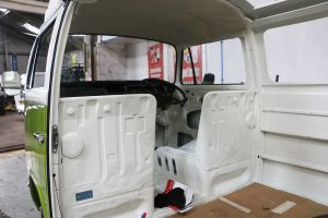 Interior VW Camper Restoration
