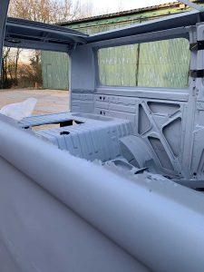 VW Campervan bodywork interior