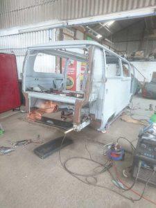 VW Campervan bodywork