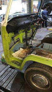 VW Camper steering restoration